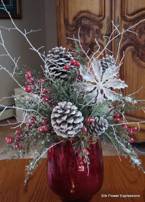 Large Christmas Arrangements