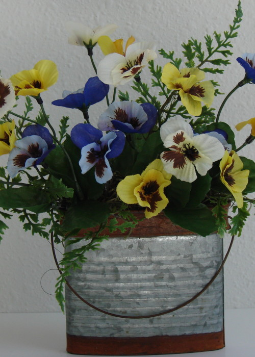Pretty Little Pansies