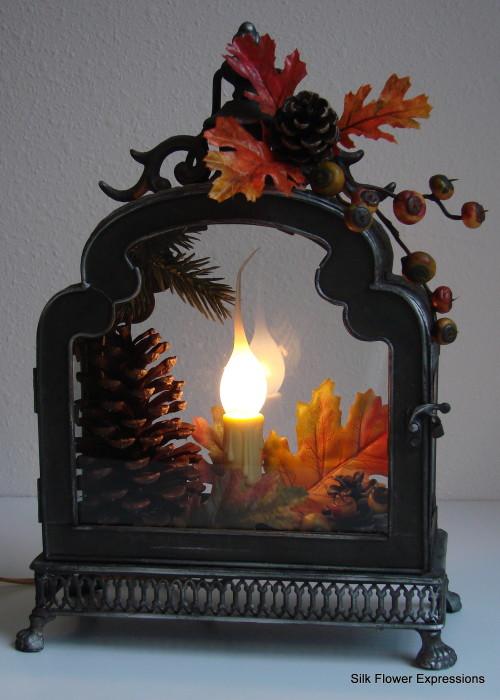 Fall Electric Lantern